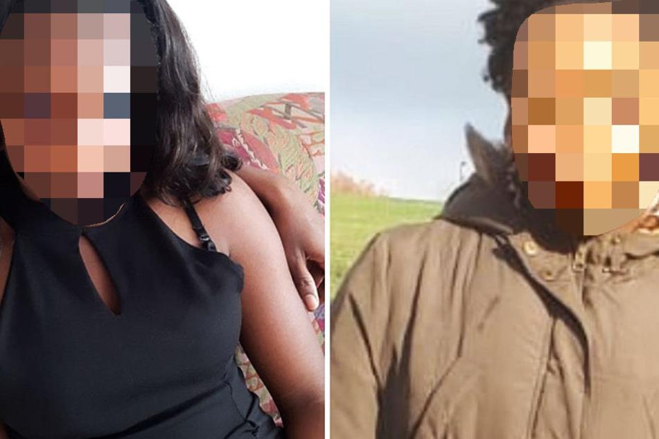 Die Fotomontage zeigt die Vermisste 13-Jährige.