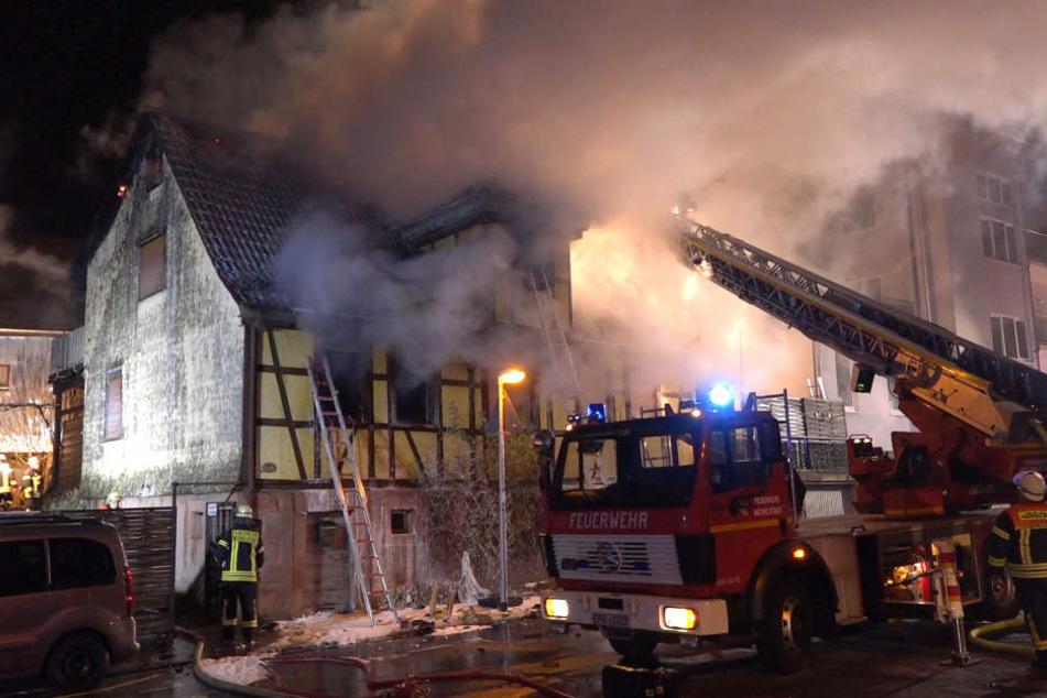 Leiche nach Feuer in Fachwerkhaus identifiziert