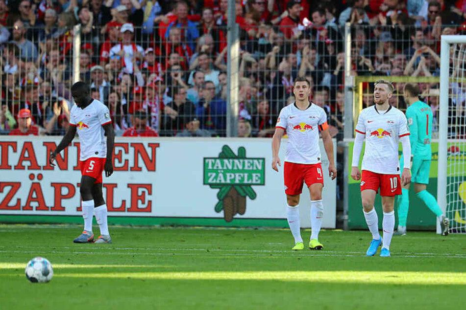 Individuell waren die Sachsen in Freiburg das bessere Team, doch sie brachten kein Tor zustande.