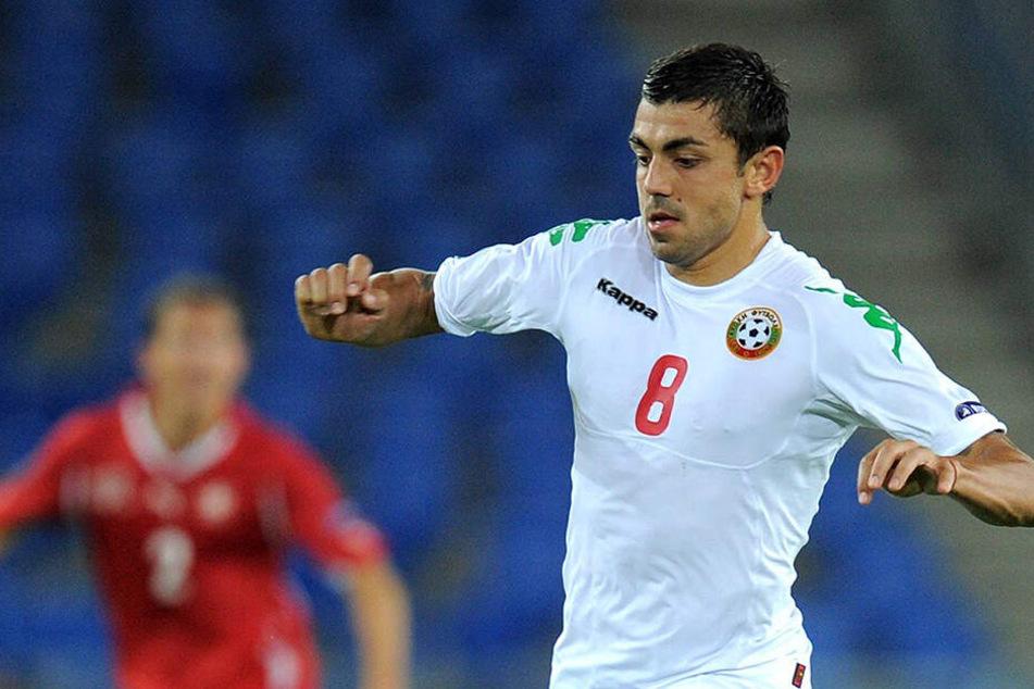 Spielte zuletzt für Bulgarien in der EM-Quali und hat daher noch Urlaub: Georgi Sarmov.