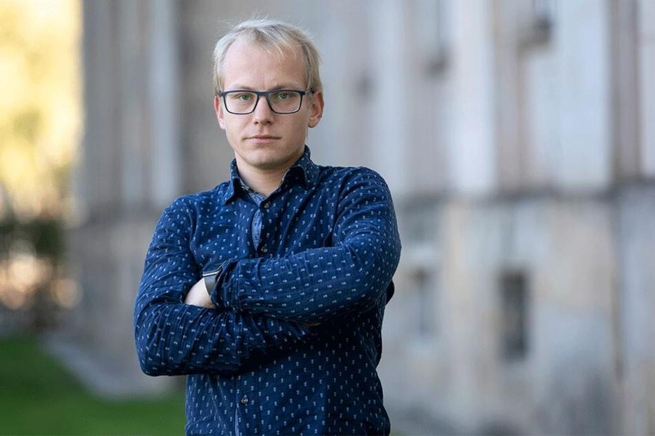 Grünen-Stadtrat Martin Oehmichen (31) ist mit dem Sondierungsergebnis unzufrieden.