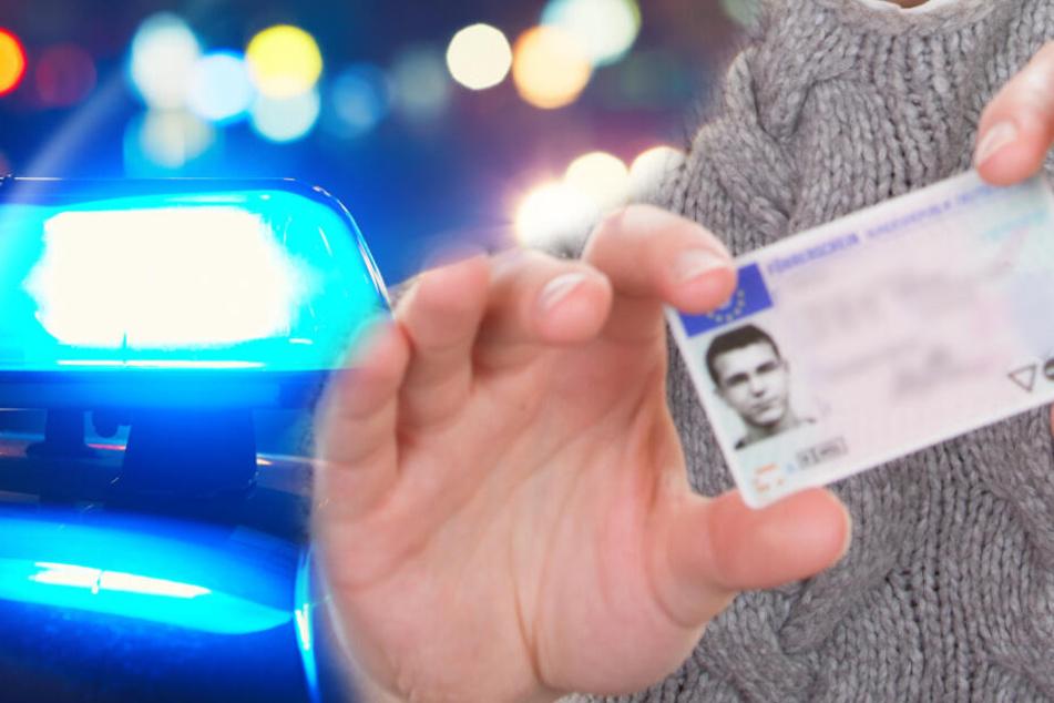 Die Polizei fand den Ausweis eines Diebes vor Ort. (Symbolbild/Fotomontage)