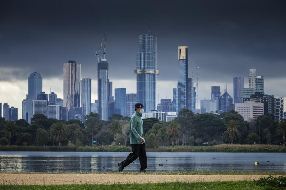 Die Stadt Melbourne und der Bundesstaat Victoria gehören zu den am schlimmsten von Corona betroffenen Regionen in Australien. (Archivbild)