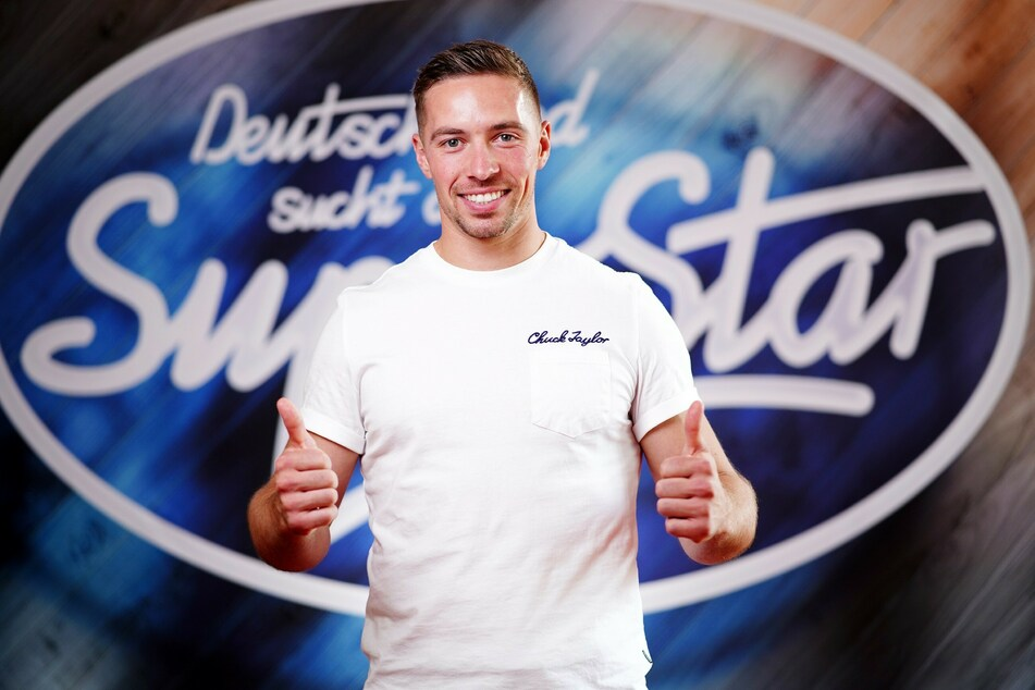 Ramon Kaselowsky (26) aus der Nähe von Leipzig hat es in die Live-Shows von DSDS geschafft.