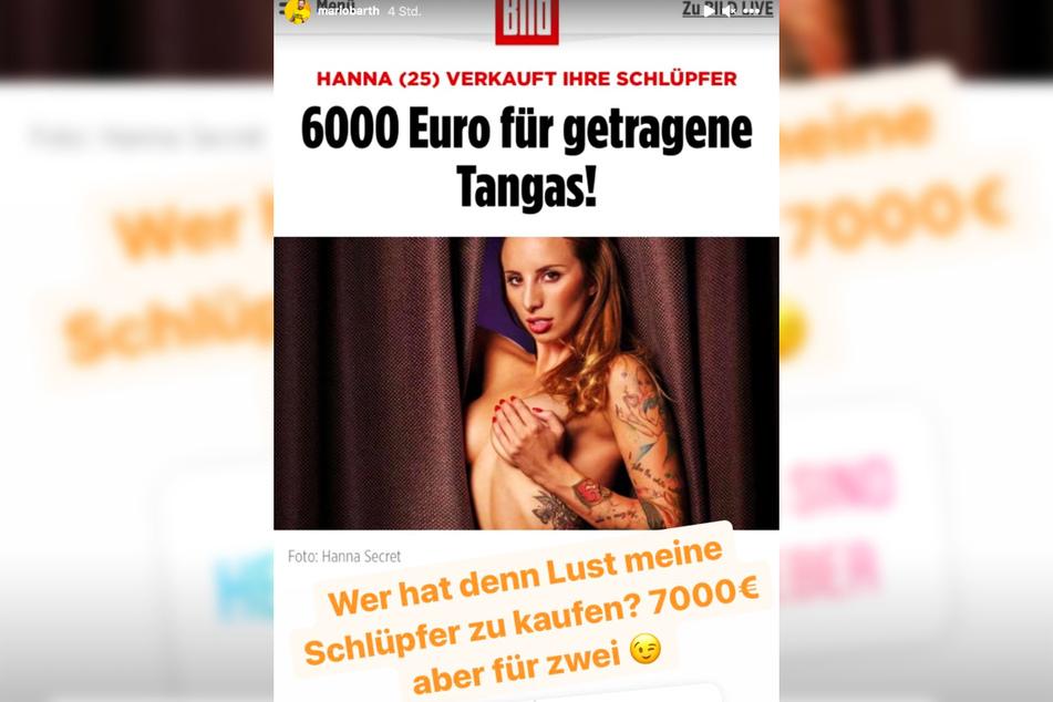 In seiner natürlich nicht ganz ernst gemeinten Reaktion auf Instagram wollte der Berliner auch sofort wissen, was seine Fans davon halten.