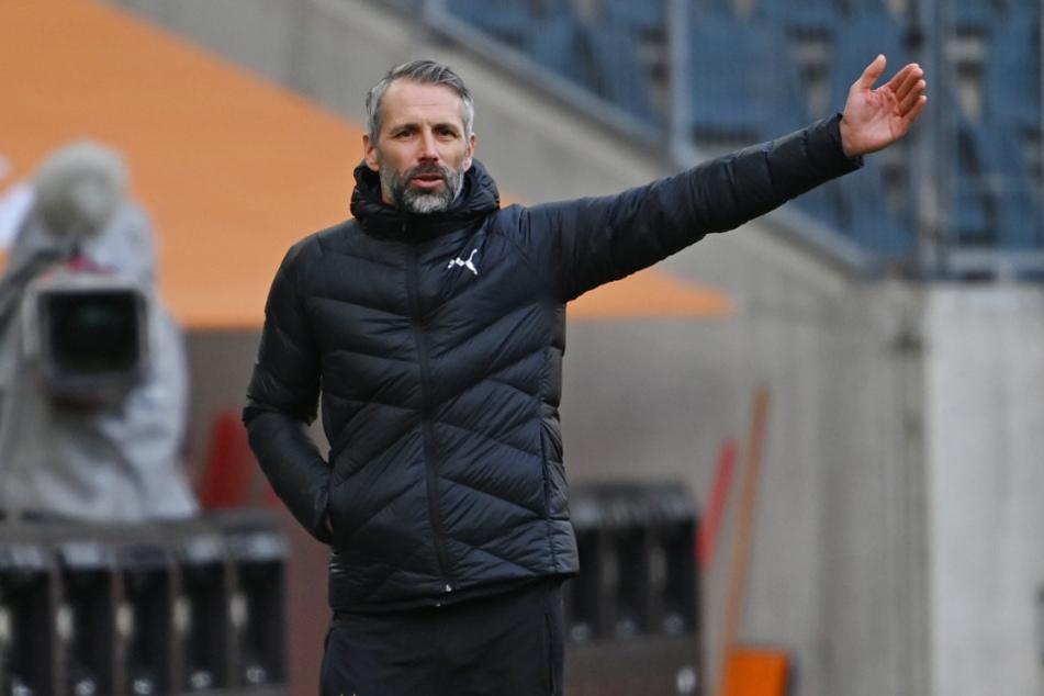 Auch in Mainz konnte die Mannschaft von Trainer Marco Rose (44) nicht überzeugen.