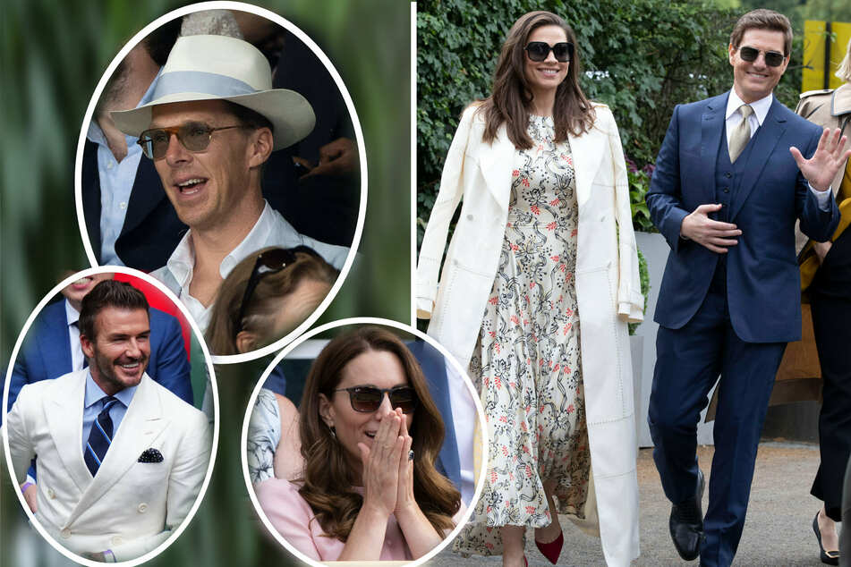 Game, set, style: Wimbledon's famous fans drew more attention than the matches