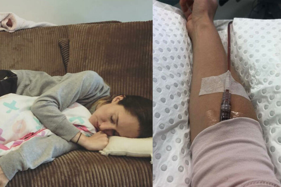 Stacey kämpfte zwei Jahre lang gegen den Parasiten.