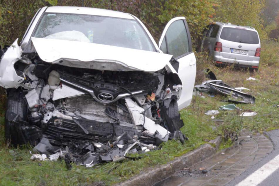 Zwei Schwerverletzte bei Frontal-Crash in Gemünden