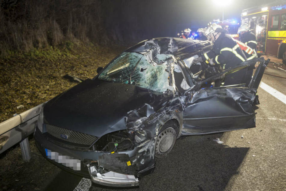 Mit schweren Kopfverletzungen wurde der 47-Jährige ins Krankenhaus gebracht.