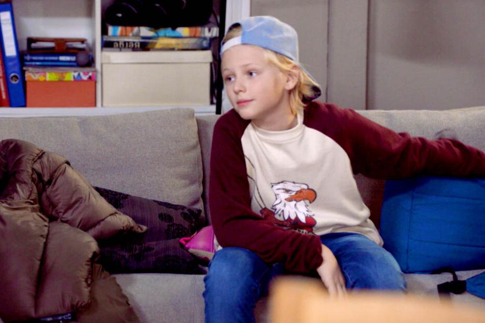 der zehnjährige Joey spielt ab sofort den Oskar bei GZSZ.