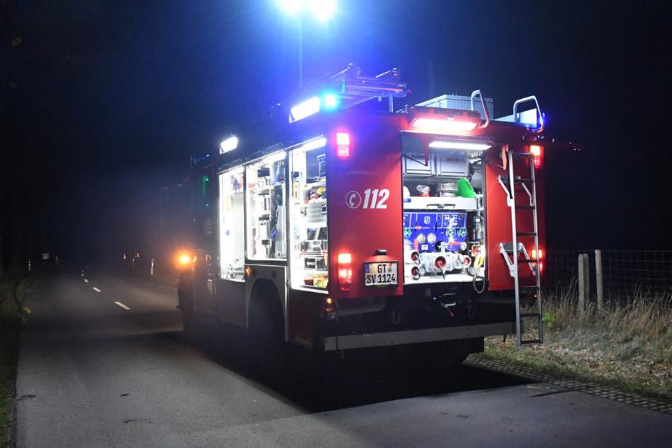 Für die Räumungsarbeiten rückte die Feuerwehr an.