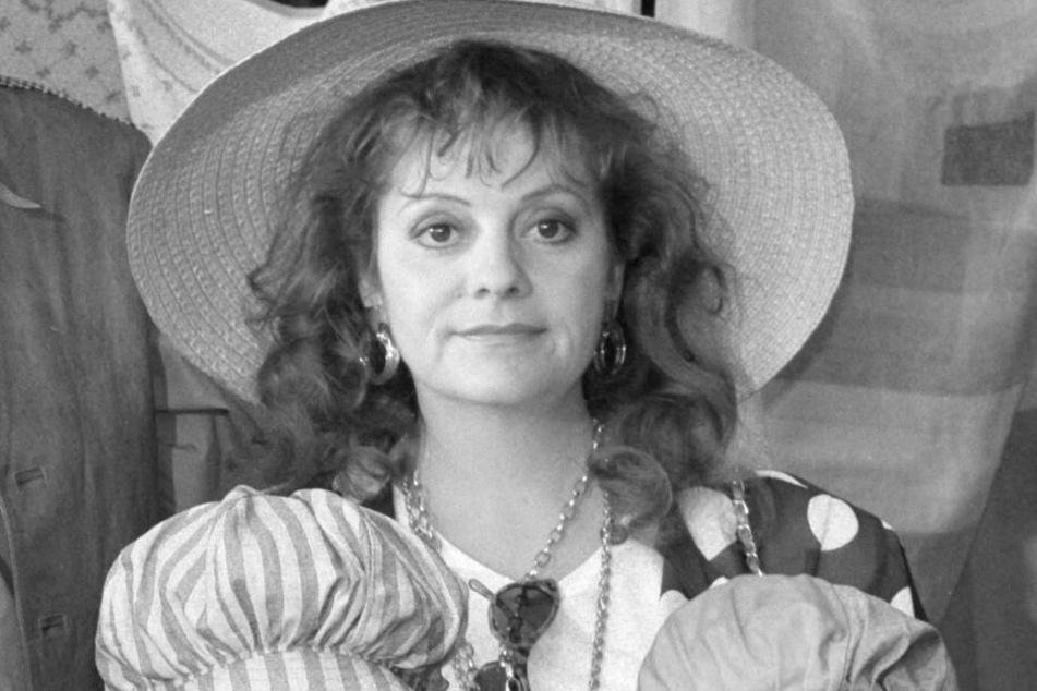 Billie Zöckler bei Dreharbeiten 1991. Die Schauspielerin starb mit 70 Jahren im Oktober 2019.