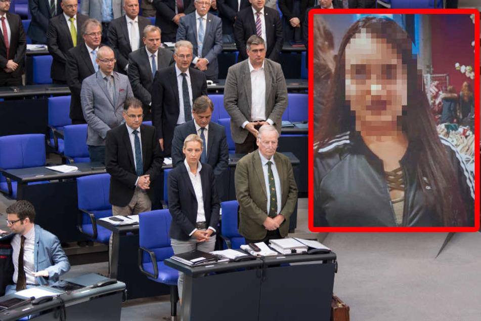 """""""Sie sollten sich schämen"""": AfD schockt Bundestag mit Schweigen für getötete Susanna"""