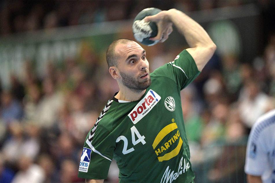 Aleksandar Svitlica (35) vom Erstligisten GWD Minden soll an Kokain-Deals beteiligt gewesen sein