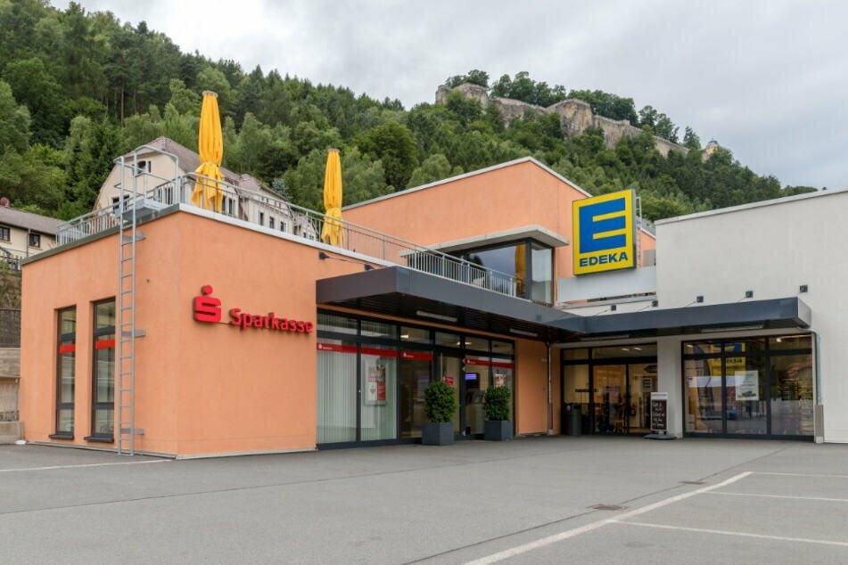 Die Filiale in Königsstein wurde sicherheitshalber geschlossen.