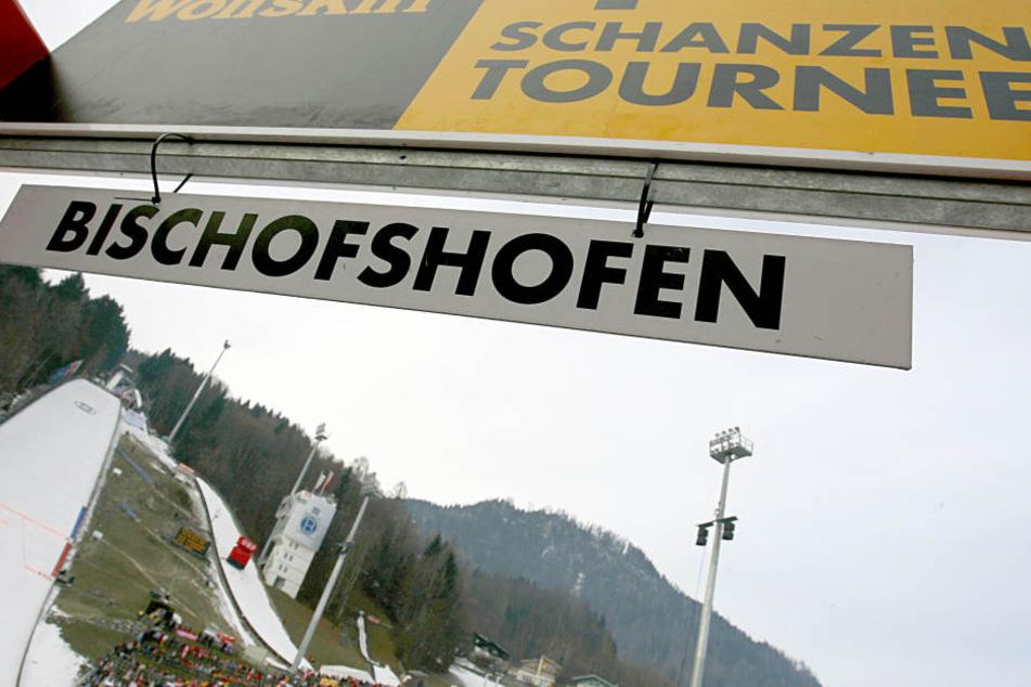 Das Finale der Vierschanzentournee findet in Bischofshofen statt.