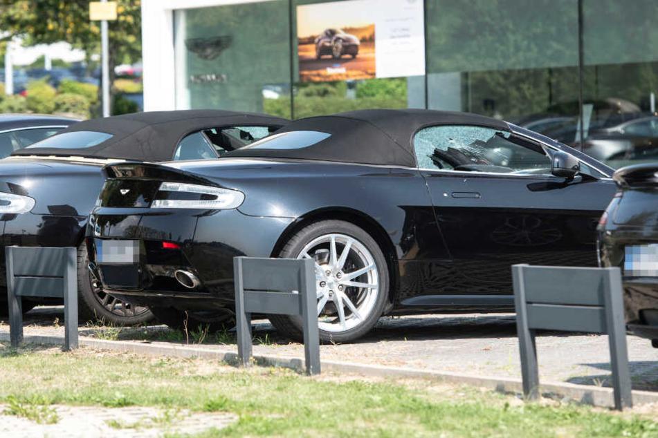 Frankfurt: Luxus-Autos in Kronberg bei Frankfurt zertrümmert: Waren es maskierte Linke?