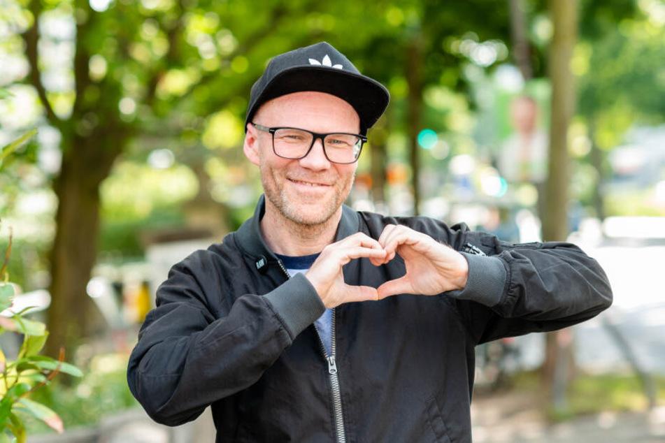 DJ Dirk Duske (48) verschickt ganz viel Liebe.