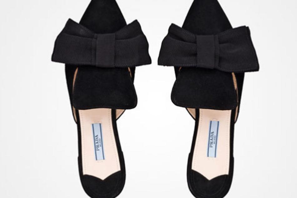 c8e41f5ae6 Diese Schuhe des Luxus-Labels Prada kosten 530 Euro. Primark hat sich
