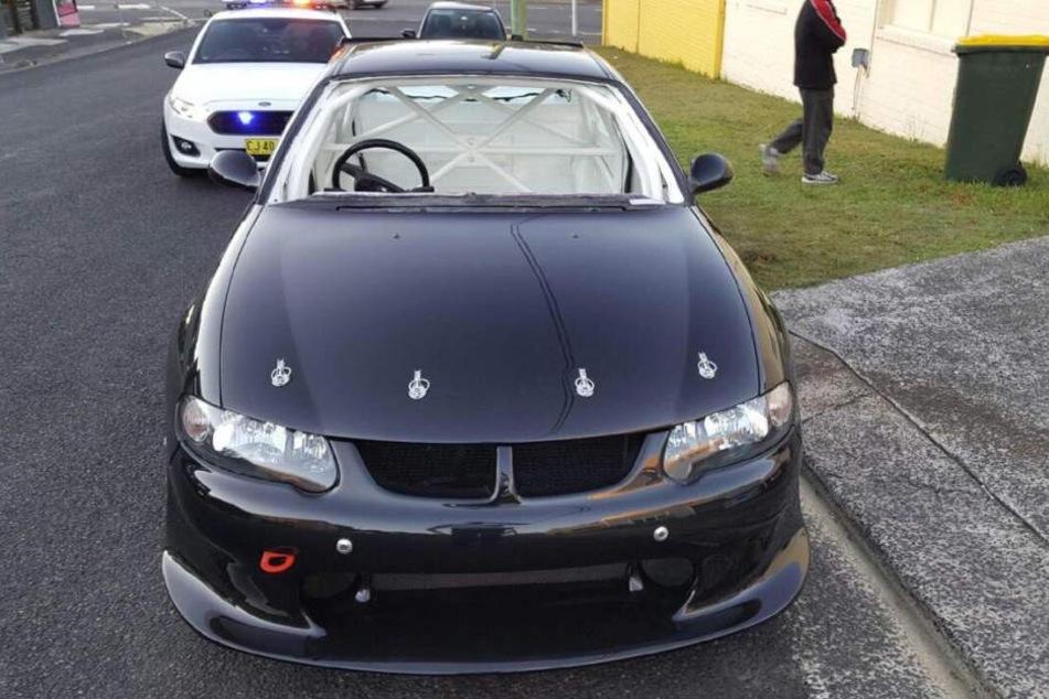 Dem Auto fehlte nicht nur die Windschutzscheibe.
