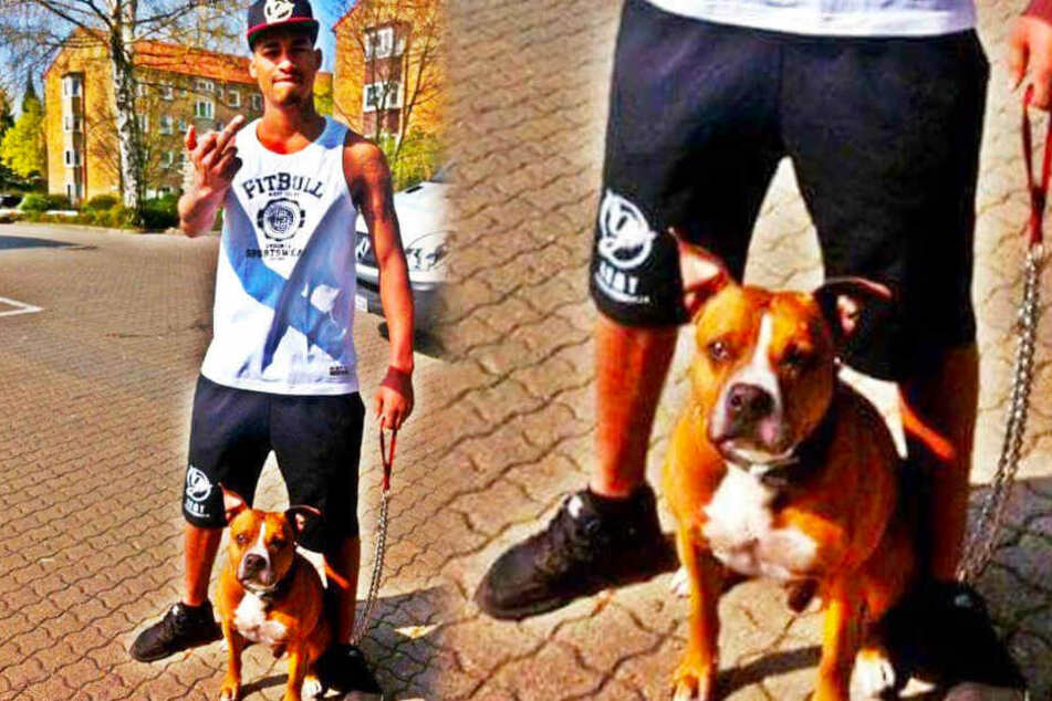 187-Rapper Maxwell war früher oft mit dem inzwischen gestorbenen Hund Boobda von Bonez MC unterwegs.