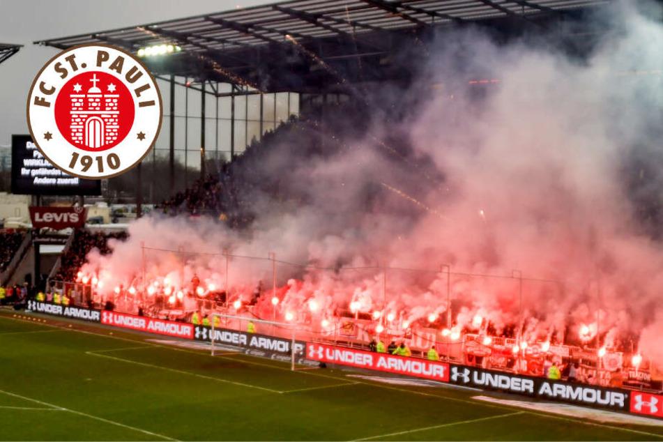 Nach Pyro-Vorfällen: Bei St.Pauli hat das Derby Konsequenzen!