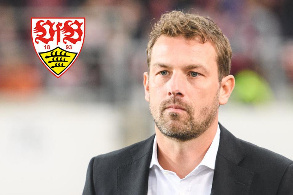 VfB-Trainer Weinzierl ist genervt von den Aussagen eines Spielers