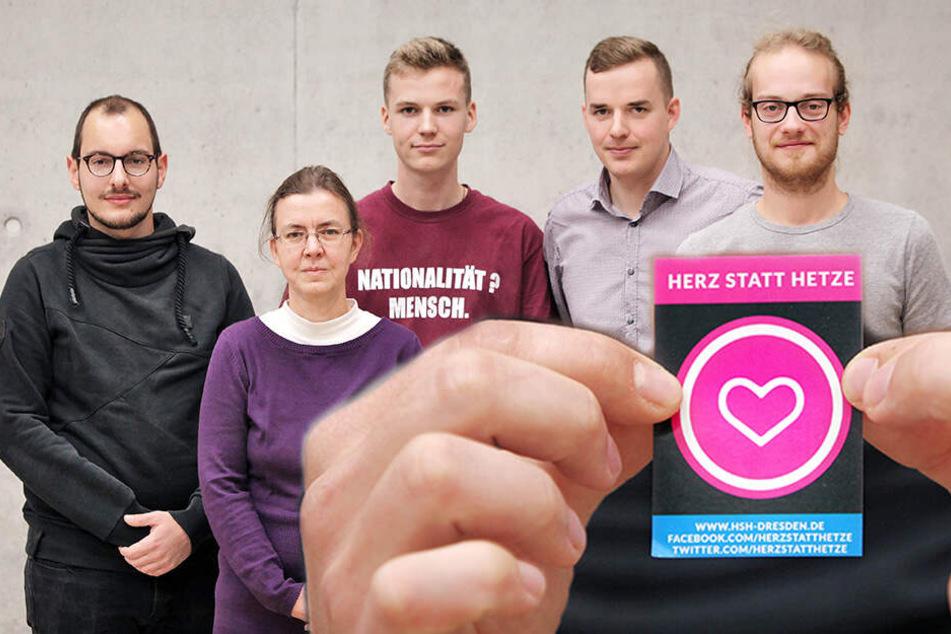 Dresden: Herz statt Hetze! Dresdner mobilisieren gegen fünf Jahre Pegida