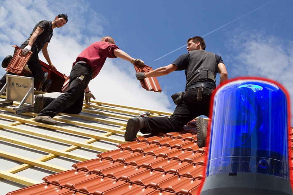 Die Polizei sucht die falschen Dachdecker (Symbolbild).