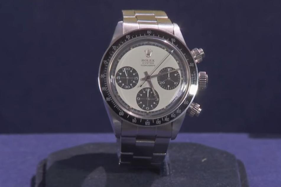 Diese Rolex ist locker eine halbe Million Euro wert.