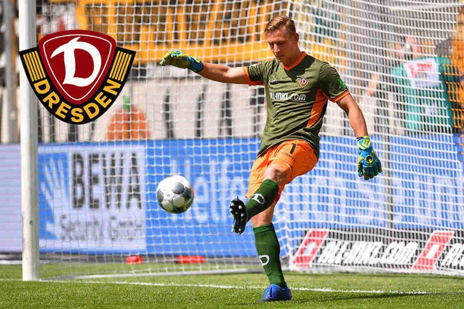 Unglückliches Dynamo-Debüt für Broll: Nix zu halten, aber mit Wacklern am Ball
