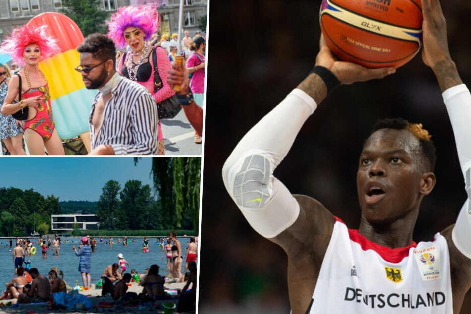 NBA-Event, CSD oder Freibad? An diesem Samstag könnt Ihr vieles erleben!