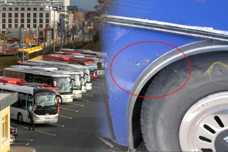 Zu viele Mängel: Reisebus mit Kindern in Dresden aus dem Verkehr gezogen