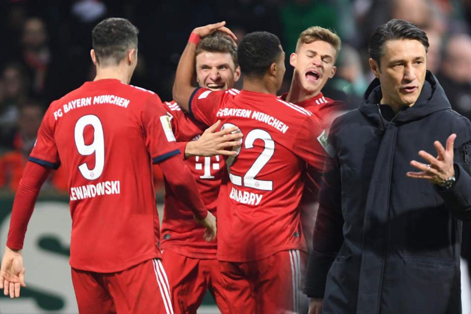 Wieder alles im Griff? Bayern-Sieg gegen Bremen lässt Kovac aufatmen