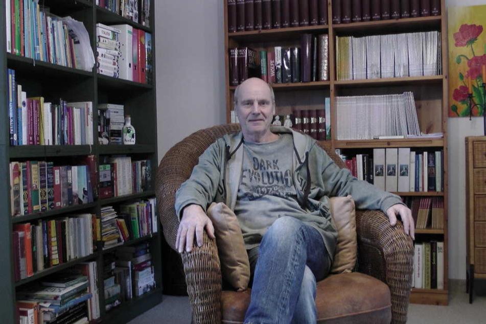 """Ost-Star Beppo Küster (68) kommt nach Dresden, um sich """"zu erhängen""""."""