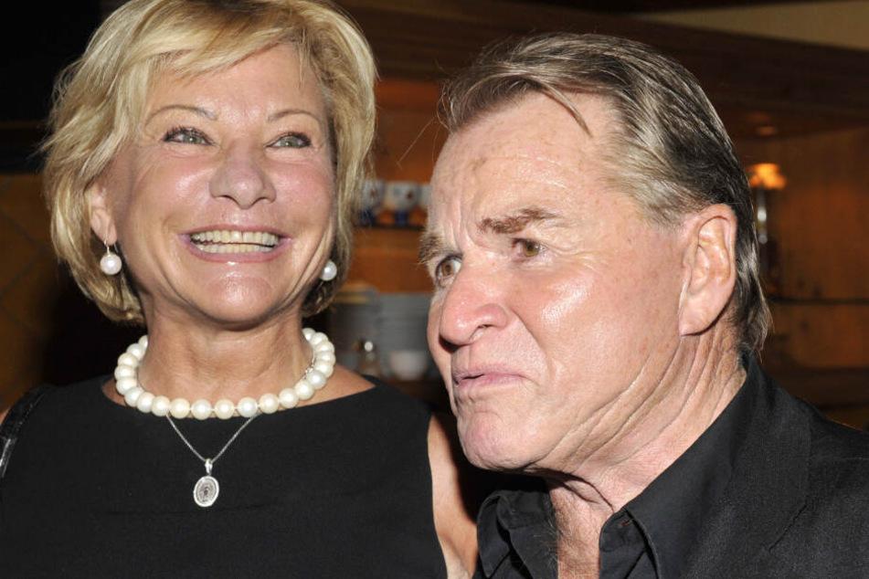 Fritz Wepper und seine Frau Angela auf einer Veranstaltung in München im Jahr 2009.