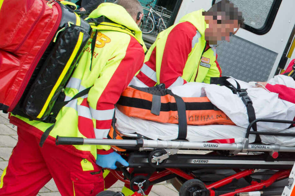 Zwei junge Männer wurden bei der Schlägerei in Frankfurt schwer verletzt (Symbolbild).