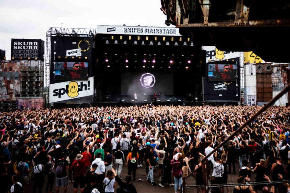 Etwa 25.000 HipHop-Fans feierten in den letzten drei Tagen auf Ferropolis.