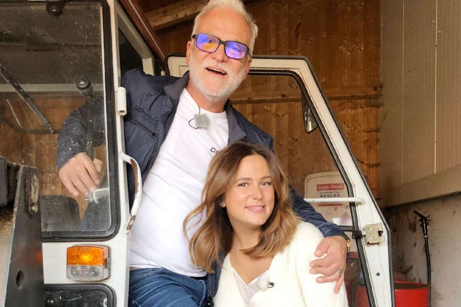 Nino de Angelo (55) will die Zeit mit seiner ältesten Tochter Lou Beyer (31) nicht mehr missen.