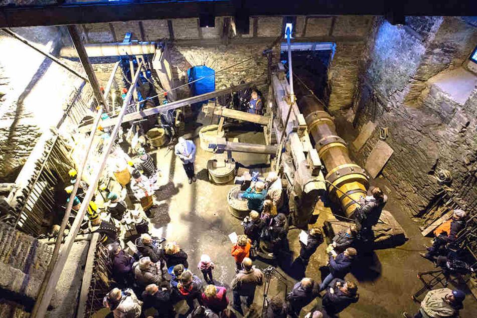 Die Montanregion feiert runden Geburtstag: 500 Jahre Industriegeschichte wird auch im Frohnauer Hammer in Annaberg-Buchholz gefeiert.