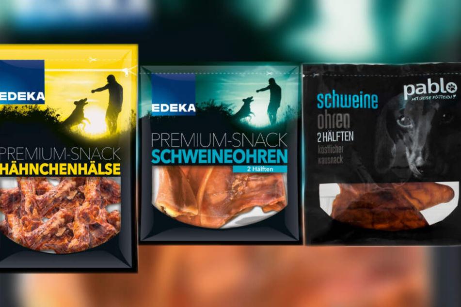 Die Futtersorten werden von Edeka zurückgerufen. (Fotomontage)