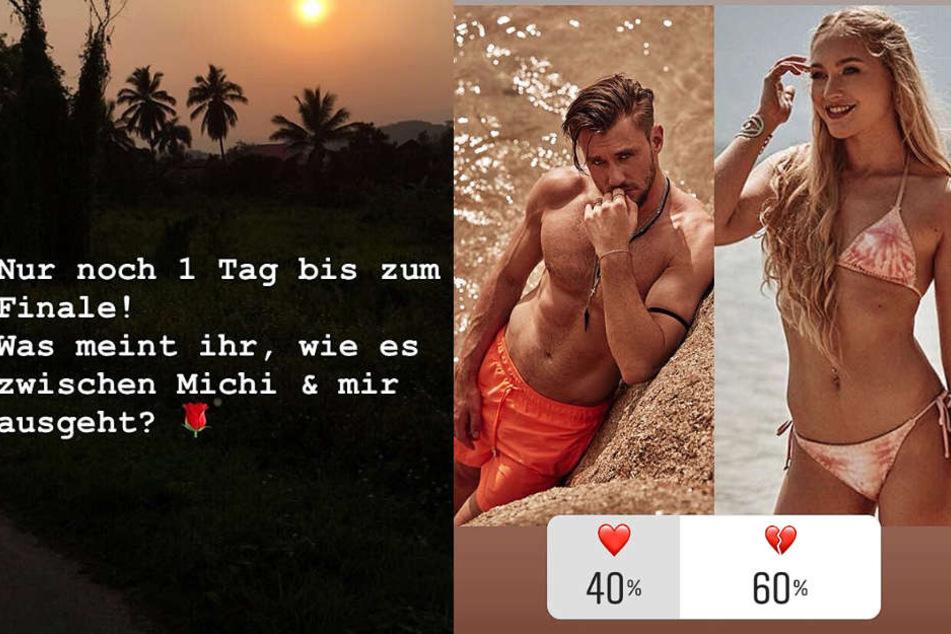 Die Montage zeigt zwei Screenshots aus Instagram-Storys von Svenja von Wrese.