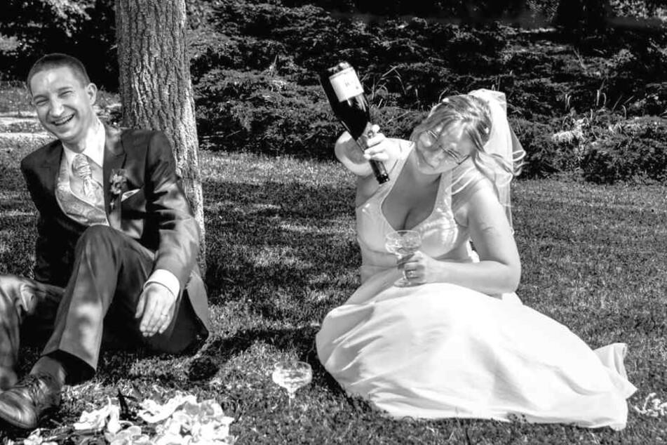 So witzig können Hochzeitsfotos sein
