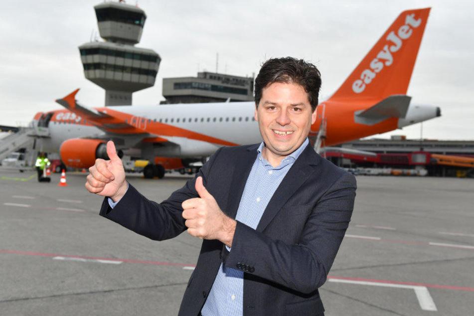 Easyjet-Europachef Thomas Haagensen glaubt nach wie vor an Berlin.