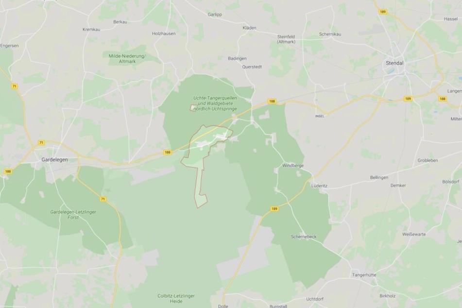 Der Unfall ereignete sich zwischen Uchtspringe und Börgitz im Landkreis Stendal.