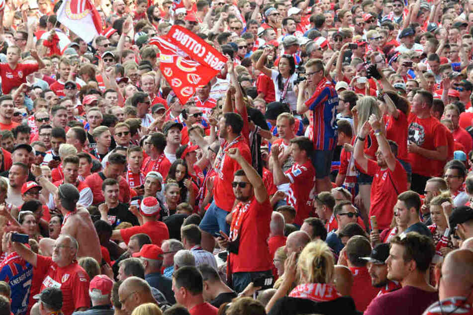 Energies Fans konnten im Sommer die Rückkehr in die dritte Liga feiern.