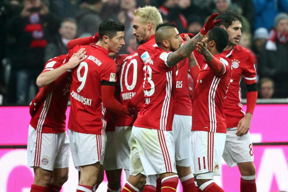 Super Ergebnis für Bayern München. Sie besiegten RB Leipzig mit 3:0.