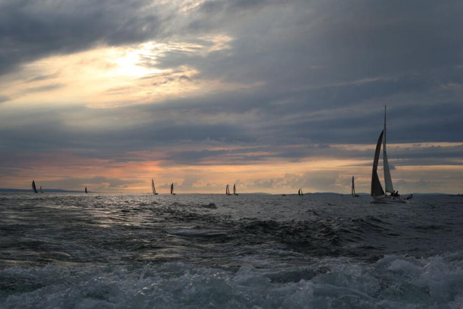 Mehr als 300 Boote nahmen an der Regatta teil.