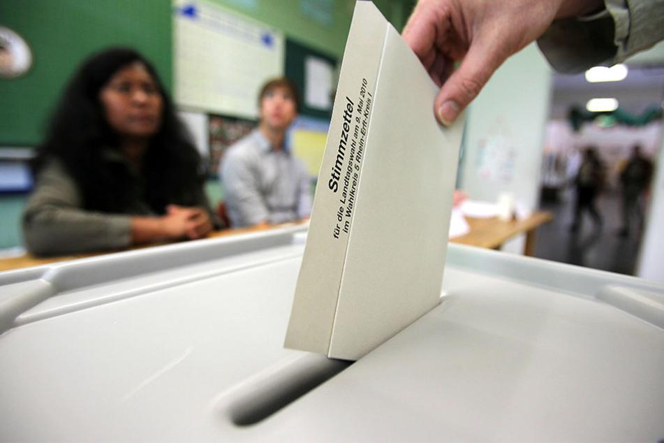 Der Landtag stimmt über die Änderung des Wahlrechts schon am Mittwoch ab (Symbolbild).